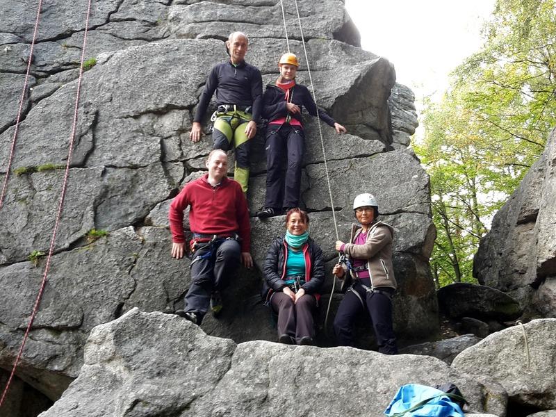 Kletterausrüstung Dav : Toprope kurs erstmals in den steinwald verlegtu2026 dav sektion weiden