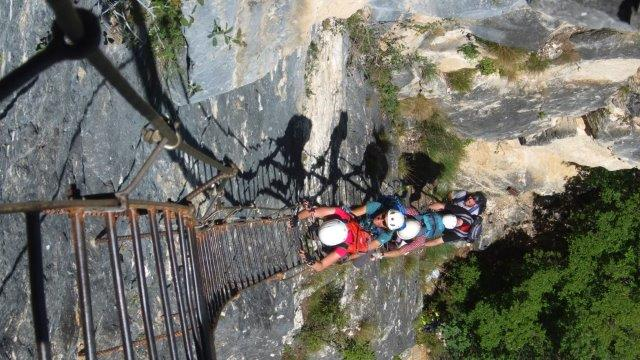 Klettersteige Gardasee : Klettersteige gardasee dav sektion weiden