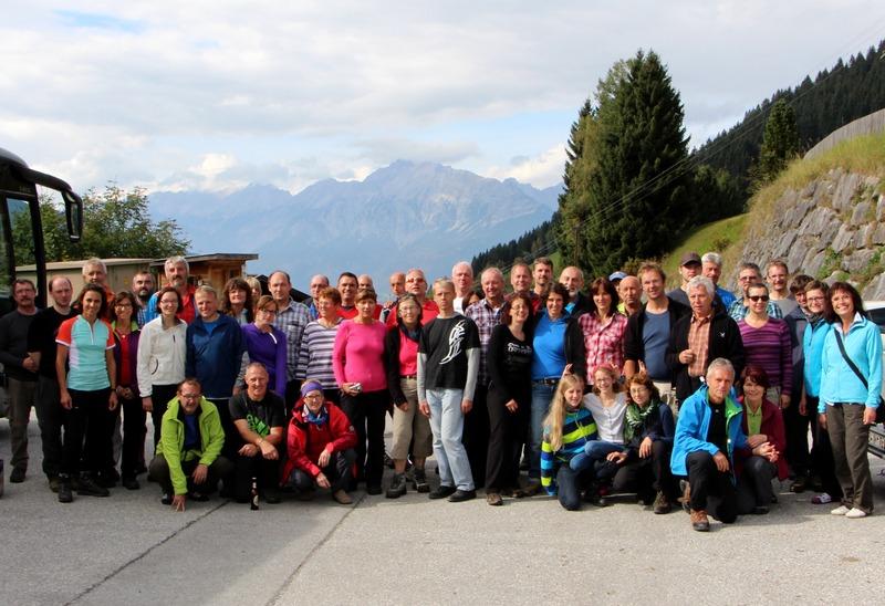 Gemeinschaftsfahrt zur Weidener Hütte 2014 - DAV Sektion Weiden